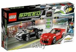 LEGO 75874 Speed Champions Chevrolet Camaro Drag Race Set Retired SEALED NEW