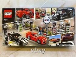 LEGO SPEED CHAMPIONS CHEVROLET CAMARO DRAG RACE 75874 NEW in Near MINT Box Rare