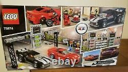 LEGO Speed Champions Chevrolet Camaro Drag Race (75874) NEW! SEALED