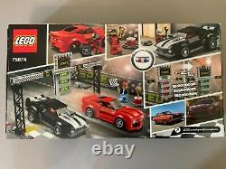 LEGO Speed Champions Chevrolet Camaro Drag Race (75874) New
