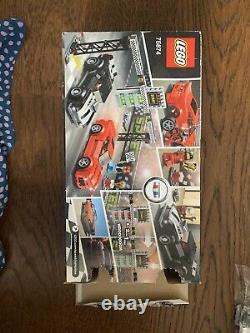 LEGO Speed Champions Chevrolet Camaro Drag Race Set 75874 100% Retired Rare NEW