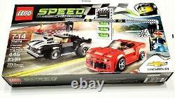 LEGO Speed Champions Set 75874 Chevrolet Camaro Drag Race New in Sealed Box