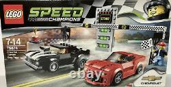 Lego 75872 Speed Champions Chevrolet Camaro Drag Race BNIB