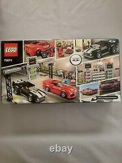 Lego Speed Champions Chevrolet Camaro Drag Race 75874 NEW Sealed (445 pcs)