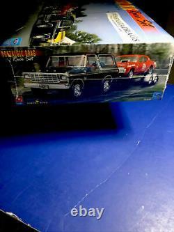 Model king /amt NOSTALGIC DRAG RACE SET BRONCO COUGAR TRAILER 1/25 #21713 F/S