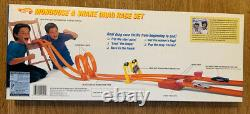 NEW IN BOX 1993 Hot Wheels Mongoose & Snake Dual Drag Race Set 25th Anniversary