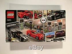 NEW LEGO Speed Champions Chevrolet Camaro Drag Race 75874 NISB