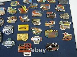 NHRA 1988-2000 National Events Championship Drag Racing Custom Framed Pin Set