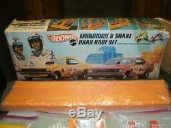 New Year Mongoose Sale! Pre-owed 1969 Mattel Mongoose & Snake Drag Race Set