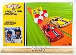 RARE 2005 Hot Wheels Classics Mongoose & Snake Drag Race Set NIB SEALED! H9604