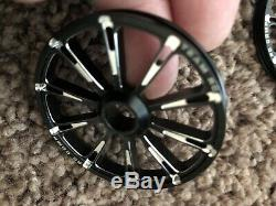 RC4WD Weld Racing amuminum Drag Race wheels (Two sets)