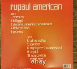 RUPAUL Rupauls drag race Greatest Hits American Vinyl set rare