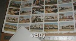 Race USA Fleer bubblegum Uncut set sheet 2 Full sets + 48 cards Rare drag racing