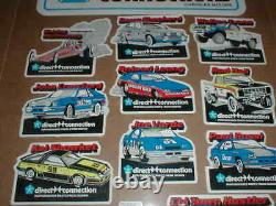 Rare Direct Connection Mopar Baja Truck Dodge drag racing decal sticker set NOS
