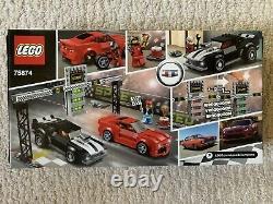 Retired LEGO Speed Champions Chevrolet Camaro Drag Race (75874) Brand New Sealed