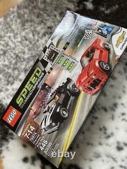 Retired Lego 75874 Speed Champions Chevrolet Camaro Drag Race NEW SEALED