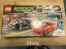 Retired Set Lego Speed Champions 75874 Chevrolet Camaro Drag Race Brand New