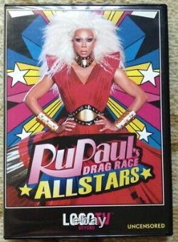 RuPaul's Drag Race All Stars Uncensored (DVD, 2013, 2-Disc Set) Complete, OOP