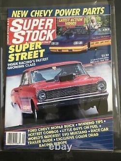 SUPER STOCK& DRAG ILLUSTRATED Magazine 1987 LOT COMLETE YEAR SET NHRA RACING