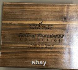 Schrade USA Rolling Thunder Drag Racing Scrimshaw Knife Set Sc507, Sc513, Sc515