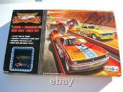 Snake & Mongoose Hot Wheels Drag Race Track Set Toys R Us Promo Ed Autographed