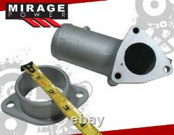 T25/t28 Turbo Charger+oil Feed & Return Drain Line+adapter Pipe Jdm Combo Set
