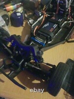 Team Associated DR10 Drag Race Car complete set to start no prep