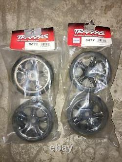 Traxxas XO-1 Super Car Mounted Tires TRA6477 (Set of 4) Drag Racing 17mm Hex