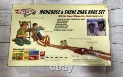U. S. Version Hot Wheels Drag Race Set Mongoose Snake