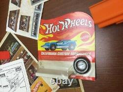 Vintage 1968 Hot Wheels Drag-race Action Set & Jump Ramp withboxes 32 Ford Super