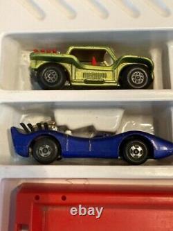 Vintage 1972 Matchbox G-6 Superfast Drag Race Set