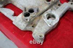 Vintage CRAGAR Intake Manifold 303 324 OLDSMOBILE Stromberg 4x2 Hot Rod Custom