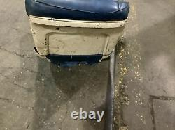 1966 Chevrolet A-body Front Buccket Seat Set Of 2- Blue With White Trim Impala