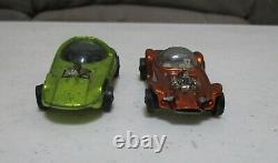 1967 Hot Wheels Drag Race Action Set No. 6202 Avec Boîte Et 2 Lignes Rouges