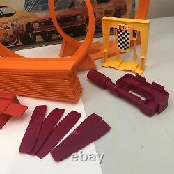 1969 Mattel Hot Wheels Mongoose & Snake Drag Race Set No Cars Incomplete