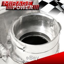 2001-2009 996 997 Porsche Turbo Aluminium Performance Mont Intercooler Argent