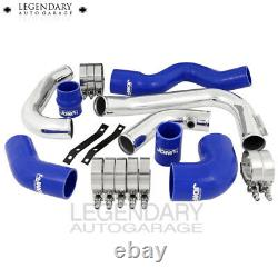 2002-2005 Audi A4 1.8t Turbo Blue Aluminium T6061 Intercooler Piping Set Blue Jdm