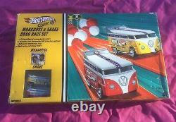 2005 Hot Wheels Classics, Mongoose & Snake Vw Drag Race Set, New In Box