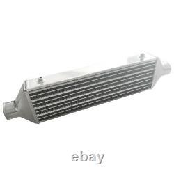 510x160x65mm Universal Turbo Intercooler Plaque De Barre 2.5 Montage Avant Aluminium Sl