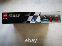 75874 Lego Speed Champions Chevrolet Camaro Drag Race Non Opéné Répertoire
