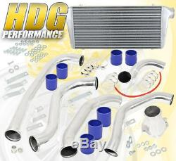 86-91 Mazda Rx7 Rx7 Fc 13b Haute Performance 31x11.5x3 Intercooler Kit De Tuyauterie