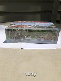 Amt Nostalgic Drag Racing Set Bronco, Cougar Et Trailer