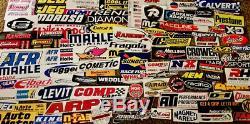 Assortiment Set 3000+ Pcs Autocollants Autocollants Racing Drags Nhra Nmra Ihra Amnc Hotrods