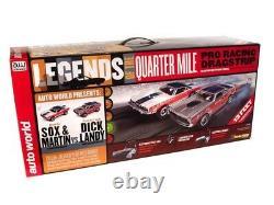 Auto World 13 'legends Du Quart De Kilométrage Drag Slot Race Set Sord Srs332