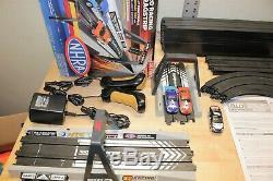 Auto World 2-in-1 Race Track Slot Car Set Nhra Nascar Aw # Cp3000ntb Drag Race