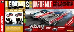 Auto World 33203 Ho Legends Of The Quarter Mile Drag Racing 13' Slot Car Set