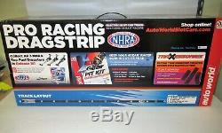 Auto World Ho John Force Drag Racing Slot Car Set # Srs320 / 03 Nib