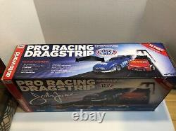 Auto World Ho Slot Drag Racing Track Avec Boîte! Pas Afx Tjet Tomy Tyco