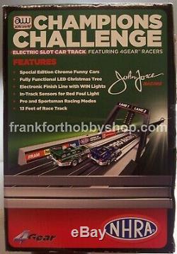 Auto World # Srs242 1/64 John Force De Champions Challenge Drag Race Set Marque Nouveau