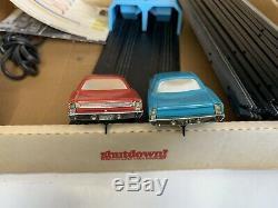 B18 Arrêt Plymouth Super Stock Drag Racing Set Complet Avec La Boîte Vintage 1968
